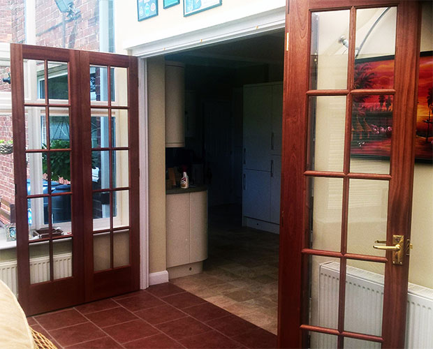 Photo 074 - Bi - Fold Doors (Open)